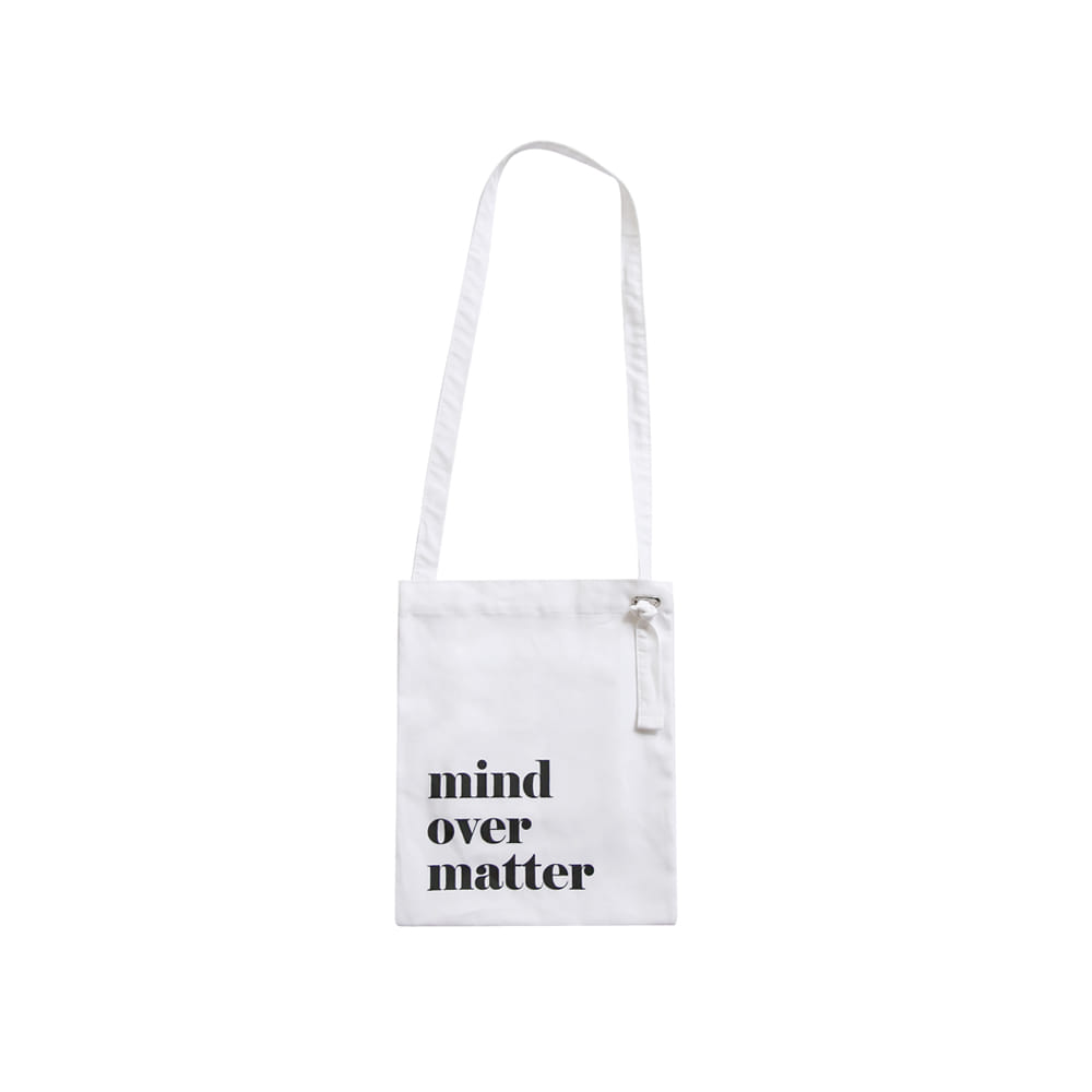 mini cotton bag - white