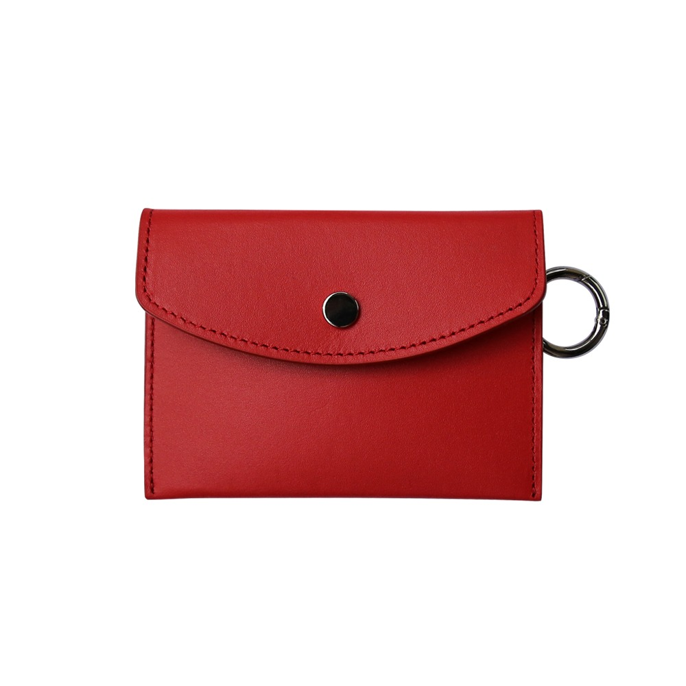Classic card wallet - red